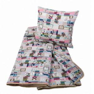 Přehoz patchwork - pohovky postele nebo na sedačku