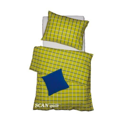 SCANquilt - povlečení KLASIK zelinkavá 140 x 200/70 x 90 cm - Povlečení SCANquilt