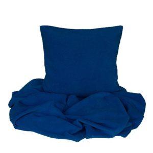 SCANquilt - pléd BELLA tm. modrá 150 x 200 cm - Atraktivní plédy a přehozy