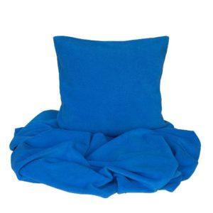 SCANquilt - pléd BELLA modrá 150 x 200 cm - Atraktivní plédy a přehozy