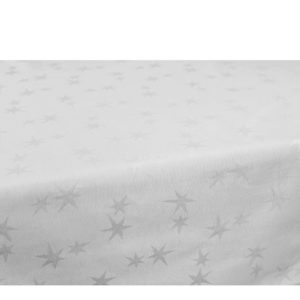 SCANquilt - ubrus SOLID bílá 120 x 150 cm - Atraktivní plédy a přehozy