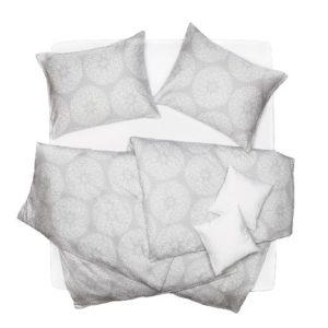SCANquilt - povlečení SATÉN PLUS sitar sv. šedá 140 x 200/70 x 90 cm - Povlečení SCANquilt
