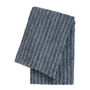 SCANquilt - pléd MULTI proužky fialová 130 x 170 cm - Atraktivní plédy a přehozy