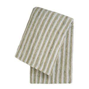 SCANquilt - pléd MULTI proužky zelená 130 x 170 cm - Atraktivní plédy a přehozy