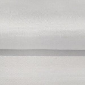 CANVAS white Jednobarevné dekorační látky - pro šití