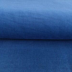 Manšestr tenký cobalt Jednobarevný tenký manšestr - pro šití