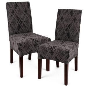 4Home Multielastický potah na židli Comfort Plus šedá